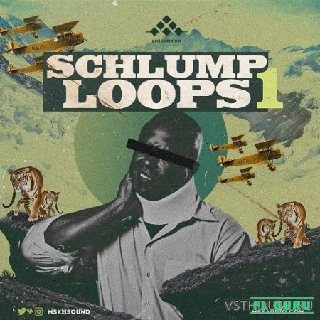 MSXII Sound Design - Schlump Loops (WAV) - сэмплы ударных