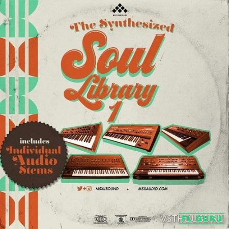MSXII Sound Design - The Synthesized Soul Library Vol.1 (WAV) - сэмплы soul