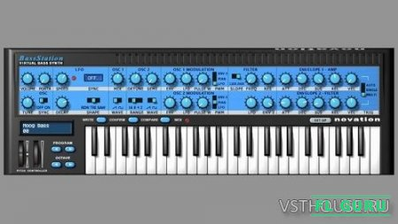 Novation - Bass Station 2.2 VST, AU WIN.OSX x86 x64 - басовый синтезатор
