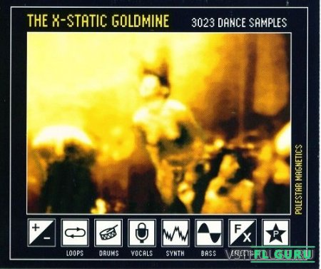 Polestar Magnetics - The X-Static Goldmine (WAV) - сэмплы retro