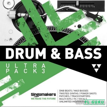 Singomakers - Drum & Bass Ultra Pack Vol.3 - сэмплы drum and bass