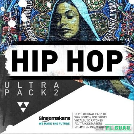 Singomakers - Hip Hop Ultra Pack 2 (MIDI, REX2, WAV, SAMPLER PATCHES) - сэмплы hip hop