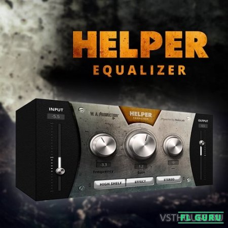 W.A Production - Helper Equalizer VST, VST3 x86 x64 - эквалайзер