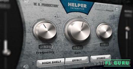 W.A. Production - Helper Saturator VST, VST3, AU WIN.OSX x86 x64 - сатуратор
