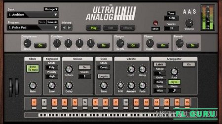 Applied Acoustics Systems - Ultra Analog VA-2 2.1.3 VSTi, AU WIN.OSX x86 x64 - аналоговый синтезатор
