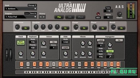Applied Acoustics Systems - Ultra Analog VA-2 2.1.4 VSTi, AU WIN.OSX x86 x64 - аналоговый синтезатор