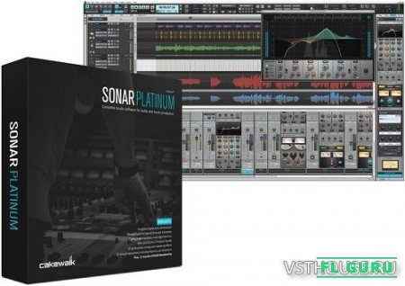 Cakewalk - SONAR Platinum 23.8.0 build 30 x86 x64 [07.09.2017, ENG + RUS] - секвенсор