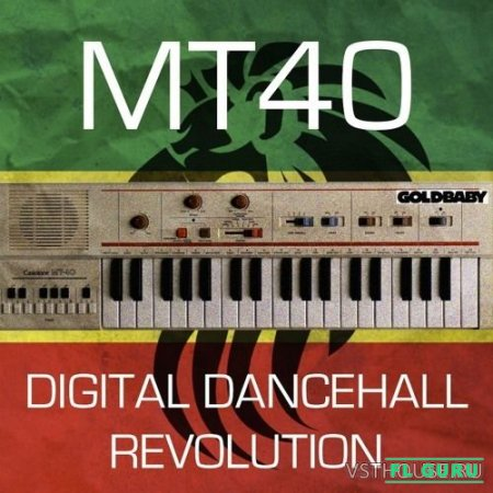 Goldbaby - MT40 Digital Dancehall Revolution (BATTERY, KONTAKT, EXS24, GEIST, AIFF, REX2, WAV) - сэмплы синтезатора