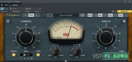 Klanghelm - MJUC variable-tube compressor 1.2.0 VST, AAX, AU WIN.OSX x86 x64 - компрессор