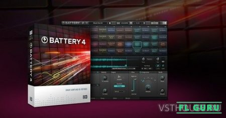 Native Instruments - Battery 4.1.6 STANDALONE, VSTi, AAX x86 x64 + Factory Library 1.1.0 - драм-сэмплер