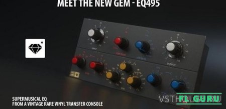 Overloud - EQ495 - Super-Musical EQ v1.0.0 VST, VST3, AAX x86 x64 - эквалайзер