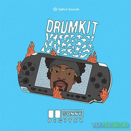 Splice Sounds - Sonny Digital Drumkit (WAV) - сэмплы ударных