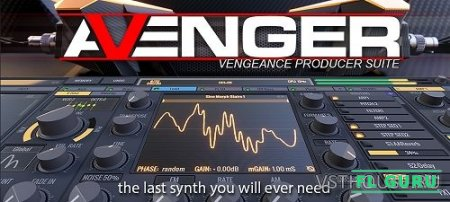 Vengeance - Avenger 1.2.2 Rev. 1, VST, VST3, AAX, x64, Factory Library, WaveForms, WaveTables (NO INSTALL, SymLink Installer) - синтезатор