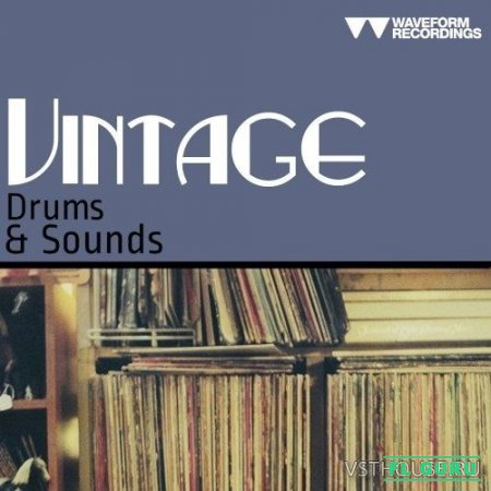 Waveform Recordings - Vintage Drums & Sounds (WAV) - сэмплы ударных