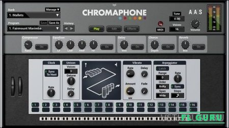 Applied Acoustics Systems - Chromaphone 2 2.0.4 VSTi, AU WIN.OSX x86 x64 - перкуссионный синтезатор
