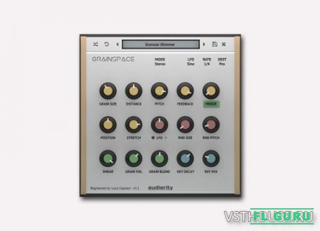 Audiority - GrainSpace 1.2.0 VST, AAX x86 x64 - ревербератор