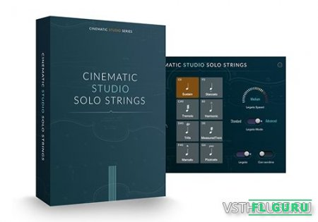 Cinematic Studio - Solo Strings (KONTAKT) - сэмплы струнных Kontakt