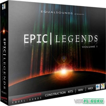 Equalsounds - Epic Legends Vol.1 (MIDI, WAV) - сэмплы оркестра, сэмплы cinema