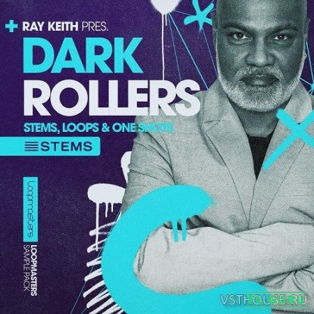 Loopmasters - Ray Keith Dark Rollers (HALION, KONTAKT, NNXT, EXS24, SFZ, REX2, AIFF, WAV) - сэмплы drum and bass