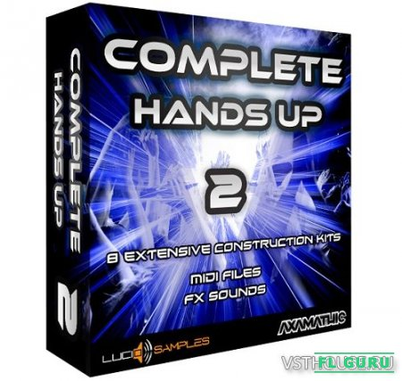 Lucid Samples - Complete Hands Up Vol.2 (MIDI, WAV, FLP) - сэмплы EDM