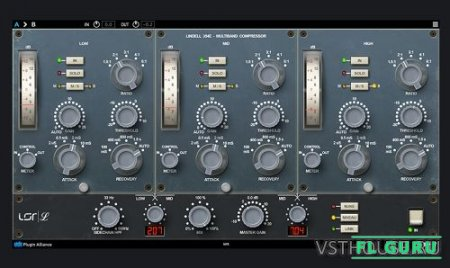 Plugin Alliance - Lindell 354E 1.0 VST, VST3, AAX x86 x64 - компрессор
