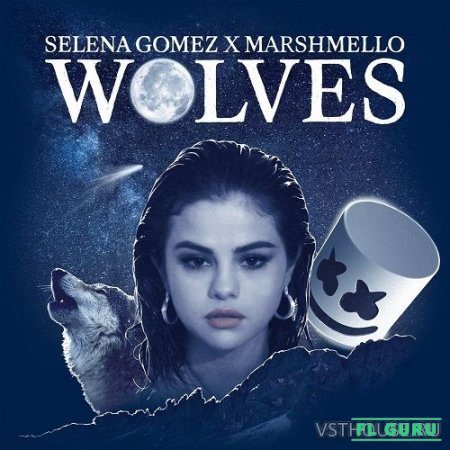 Selena Gomez & Marshmello – Wolves (Official Acapella & Instrumental & MIDI) - студийная акапелла