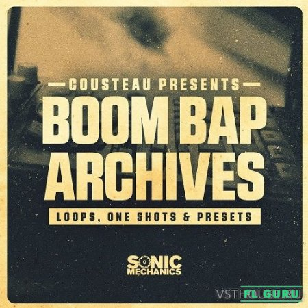 Sonic Mechanics - Boom Bap Archives (EXS24, WAV, KONTAKT, HALION) - сэмплы drum and bass