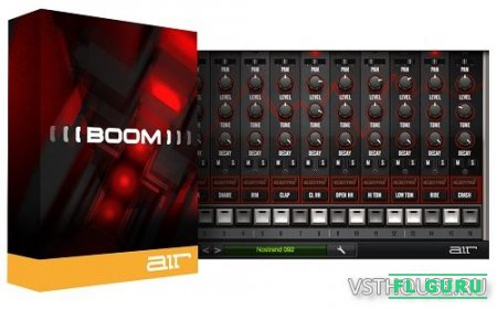 AIR Music Technology - Boom 1.2.11 VSTi x86 x64 - драм-машина