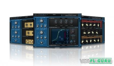 Blue Cat Audio - Blue Cat's Destructor 1.2 VST, VST3, AAX x86 x64 - дисторшн