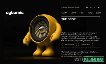 Cytomic - The Glue 1.3.19, The Drop 1.5.8, The Scream 1.0.8, VST AAX x86 x64 (Portable, NO INSTALL, SymLink Installer) - набор плагинов