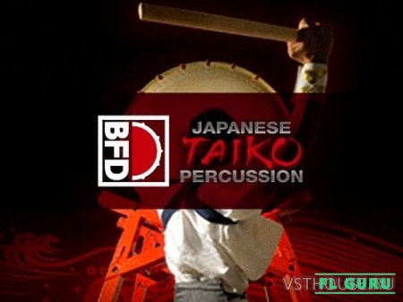 FXpansion - BFD Japanese Taiko Percussion (BFD3) - сэмплы ударных BFD3