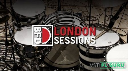FXpansion - BFD London Sessions (BFD3) - сэмплы ударных BFD3