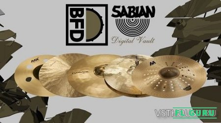 FXpansion - BFD Sabian Digital Vault (BFD3) - сэмплы ударных BFD3