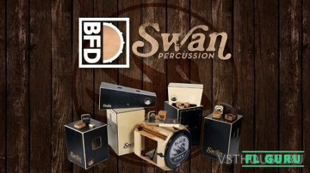 FXpansion - BFD Swan Percussion (BFD3) - сэмплы ударных BFD3
