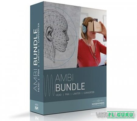 Noise Makers - Ambi Bundle HD 1.0 VST, AAX x64 - плагин для создания 3D аудио