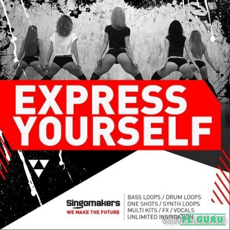 Singomakers - Express Yourself (MIDI, REX2, WAV, SERUM, MASSIVE, SAMPLER PATCHES) - сэмплы trap, сэмплы moombahton