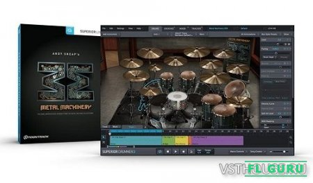 Toontrack - Metal Machinery SDX v1.5 (SUPERIOR DRUMMER) - сэмплы Superior Drummer 2