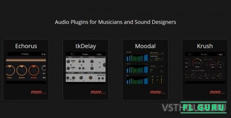 Tritik - All Plugins Bundle 11.2017, VST AAX x86 x64 (NO INSTALL, SymLink Installer) - набор плагинов