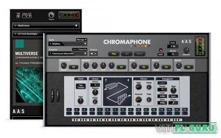 Applied Acoustics Systems - Chromaphone 2.0.5 VSTi, AU WIN.OSX x86 x64 - перкуссионный синтезатор