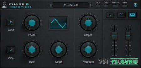 AudioThing - Phase Motion 2.0.0 VST, AAX x86 x64 - фейзер