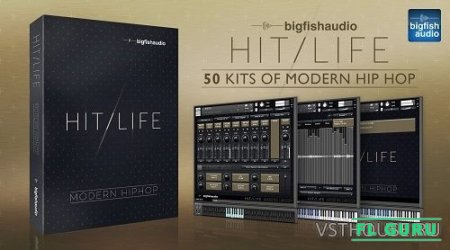 Big Fish Audio - Hit Life 2 Modern Hip Hop (KONTAKT) - сэмплы hip hop Kontakt