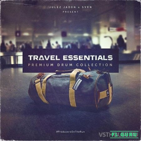 Julez Jadon - Travel Essentials Premium Drum Collection (WAV) - сэмплы ударных