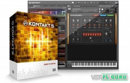 Native Instruments - Kontakt 5.7.3 Update (NO Kontakt Key, NO KEYGEN, NO Service Center) EXE, VSTi, AAX, x86 x64... - сэмплер