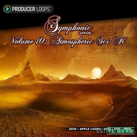 Producer Loops - Symphonic Series Vol.10 Atmospheric Sci-Fi (AIFF, MIDI, WAV, ABLETON, OMF) - сэмплы оркестра, сэмплы cinema