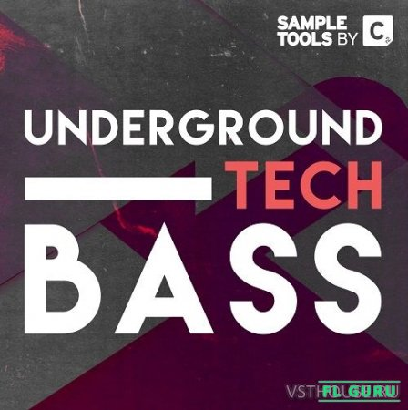 Sample Tools by Cr2 - Underground Tech Bass (MIDI, WAV) - сэмплы future bass