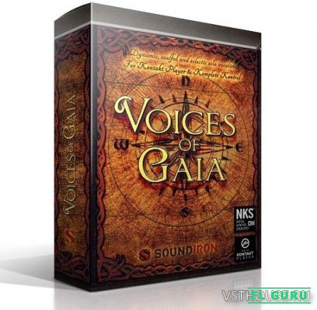 Soundiron - Voices Of Gaia (KONTAKT) - сэмплы вокала Kontakt