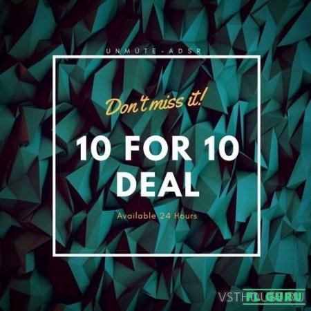 Unmute - 10 for Christmas Bundle (MIDI, WAV, SERUM) - сборник сэмплов
