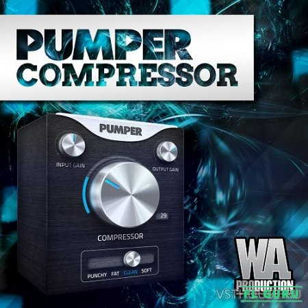 W. A. Production - Pumper Compressor 1.0.1 VST, VST3, AU WIN.OSX x86 x64 - компрессор