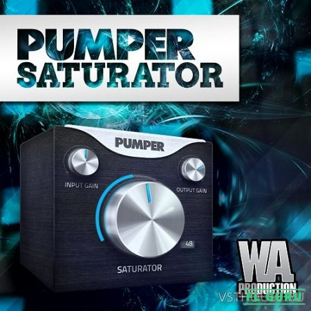 W. A. Production - Pumper Saturator 1.0.1 VST, VST3, AU WIN.OSX x86 x64 - сатуратор