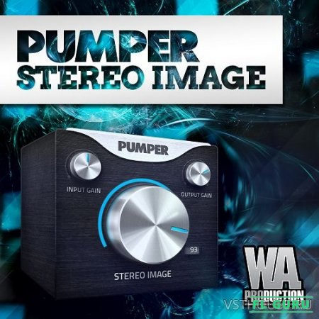 W. A. Production - Pumper Stereo Image 1.0.1 VST, VST3, AU WIN.OSX x86 x64 - стерео расширитель